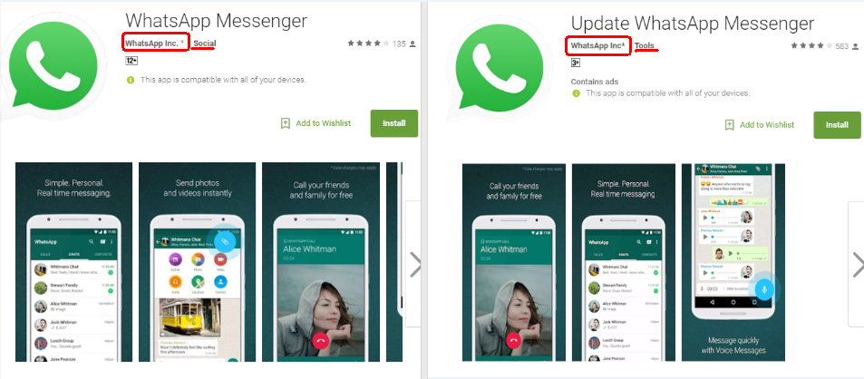 Fake-WhatsApp-App